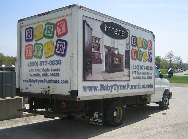 Baby Tyme Furniture Truck