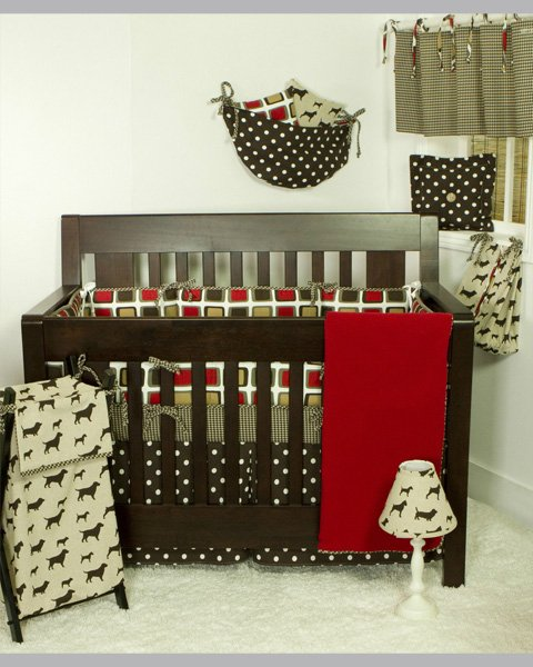 Houndstooth Beautiful Babies Bedding