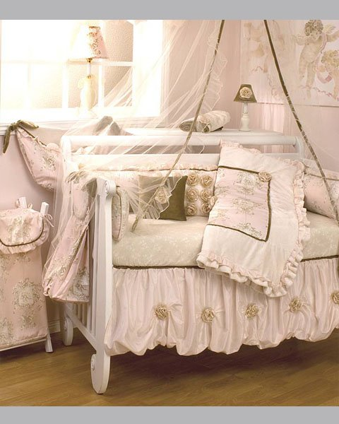 Lollipops and Roses Cotton Bedding
