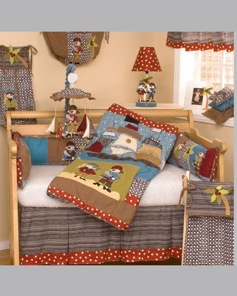 Pirates Cove Cool Babies Bedding