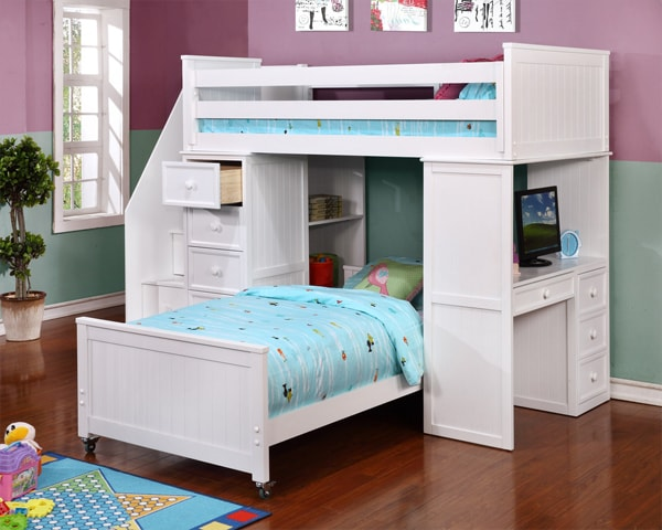 Twin over Twin Loft Bunk