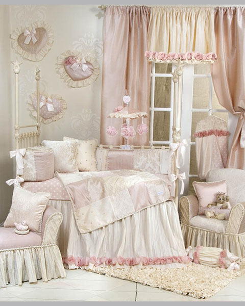 Victoria Baby Girl Bedding