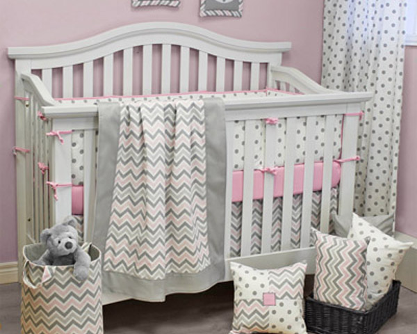 Chevron Pink Sheets and Bedding