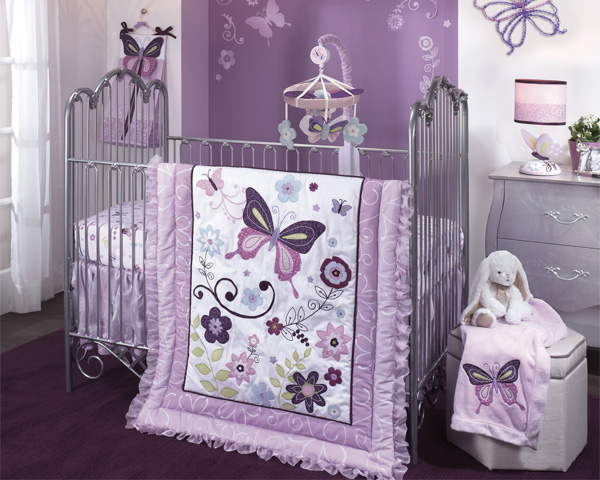 Butterfly Lane Silk Bedding