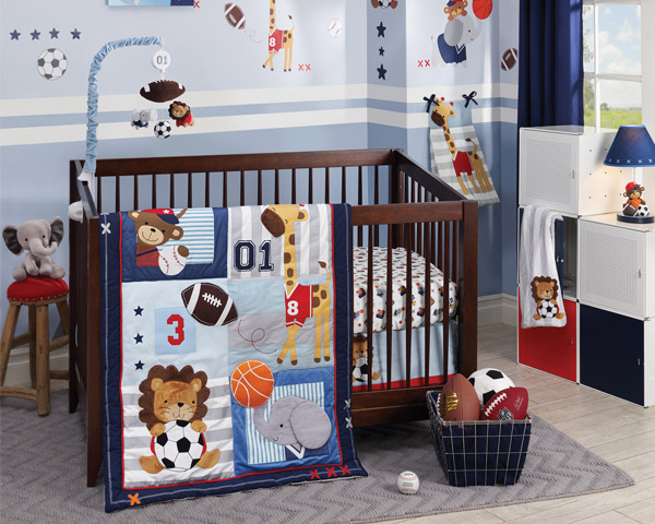 Future All Star Cool Nursery Bedding