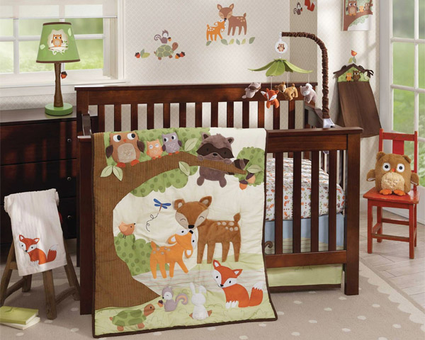 Woodland Tales Fine Bedding