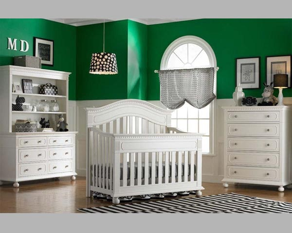 Naples Convertible Crib Snow White Babies Furniture
