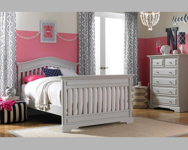 Venezia Full Bed Misty Grey For Babies Room