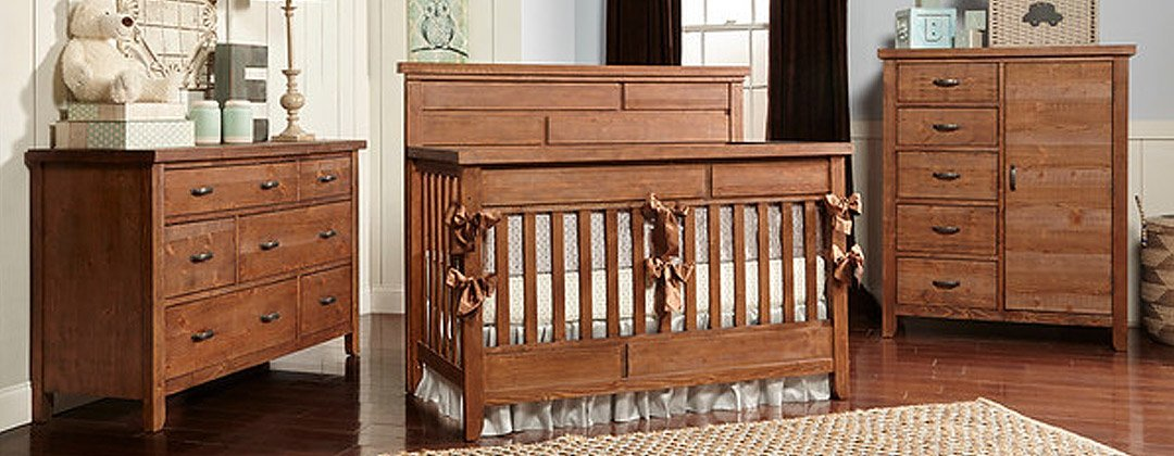 Baby Tyme Furniture Brown Crib
