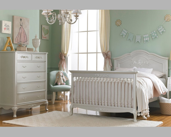 Angelina Full Bed Pearl Baby Bedding
