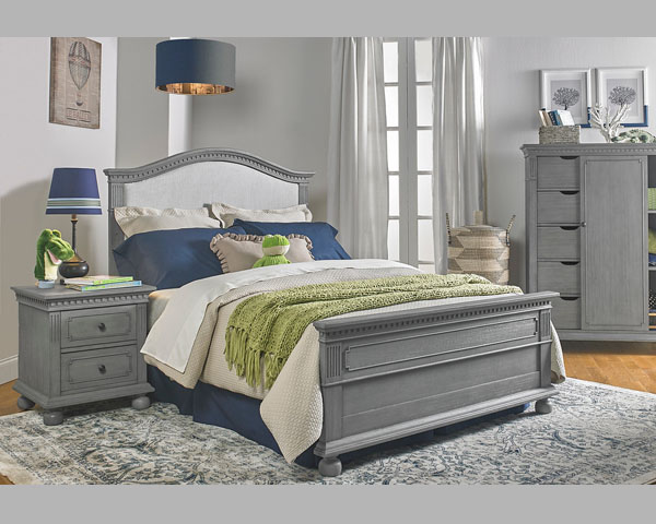Naples Nantucket Bed Grey
